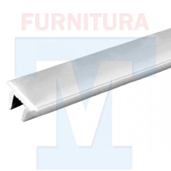 Заглушка порога для душевой кабины (Анод. Серебро) арт. 117
