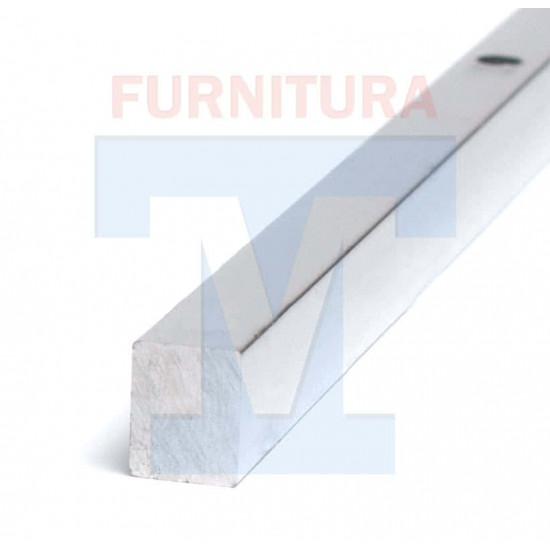Профиль крепления магнита для душевой кабины (Хром) арт. 119