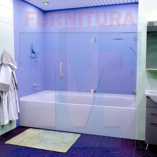 Шторка на ванну с добором Люси-23